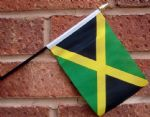 HAND WAVING FLAG (SMALL) - Jamaica
